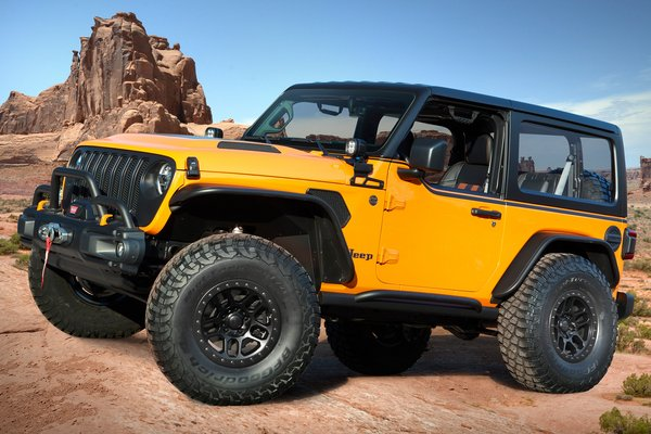 2021 Jeep Orange Peelz