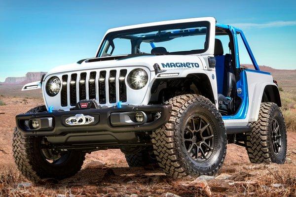 2021 Jeep Wrangler Magneto