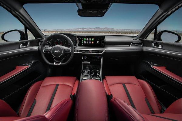 2021 Kia K5 GT-Line AWD Interior