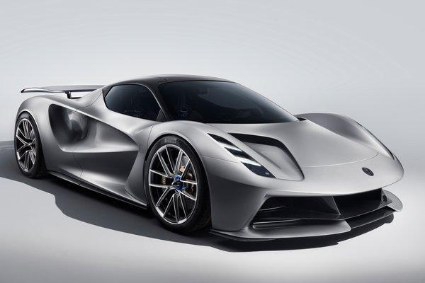 2019 Lotus Evija prototype