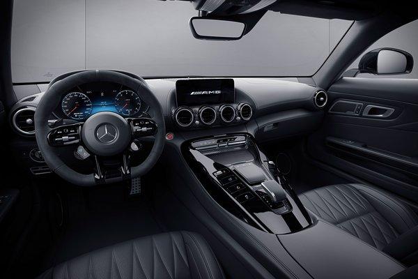 2021 Mercedes-Benz AMG GT coupe Interior