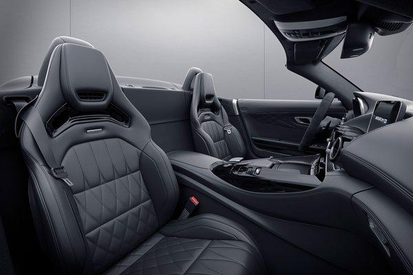 2021 Mercedes-Benz AMG GT Roadster Interior