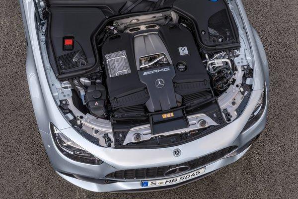 2021 Mercedes-Benz E-Class AMG E 63 S sedan Engine