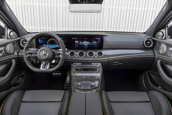 2021 Mercedes-Benz E-Class AMG E 63 S sedan Interior