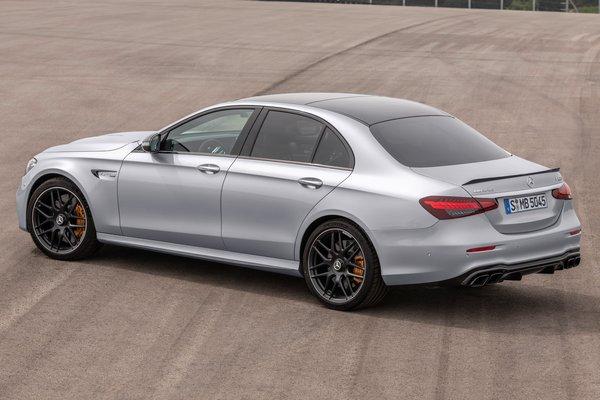2021 Mercedes-Benz E-Class AMG E 63 S sedan