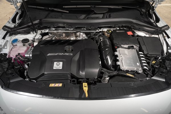2021 Mercedes-Benz GLA-Class GLA 45 AMG Engine