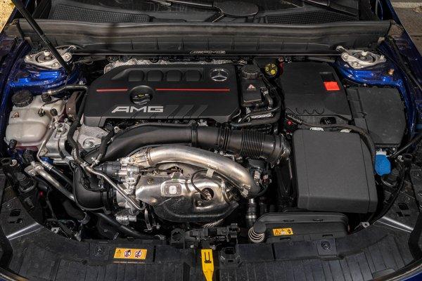2021 Mercedes-Benz GLB-Class GLB 35 AMG Engine