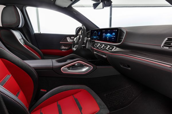 2021 Mercedes-Benz GLE-Class Coupe GLE 53 AMG Interior