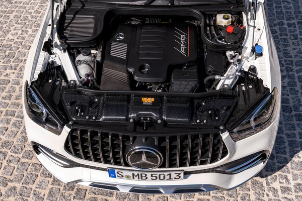 2021 Mercedes-Benz GLE-Class Coupe GLE 53 AMG Engine