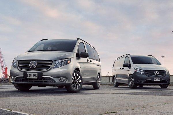 2021 Mercedes-Benz Metris passenger van