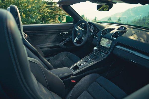 2021 Porsche 718 Boxster GTS 4.0 Interior