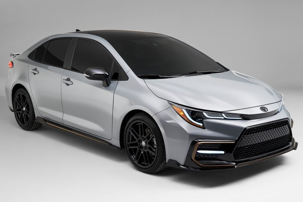 2021 Toyota Corolla sedan Apex Edition