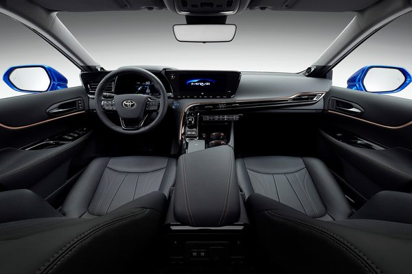 2019 Toyota Mirai Concept LHD Interior