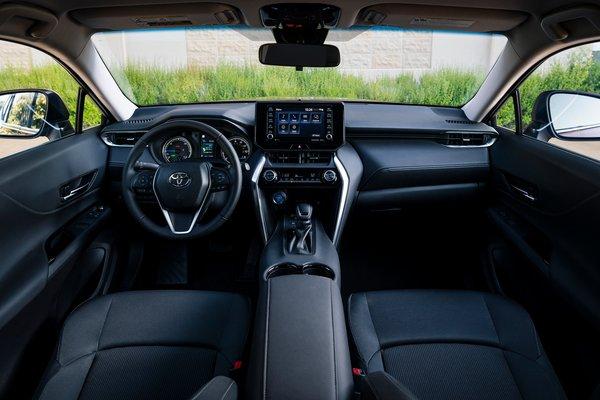 2021 Toyota Venza LE Interior