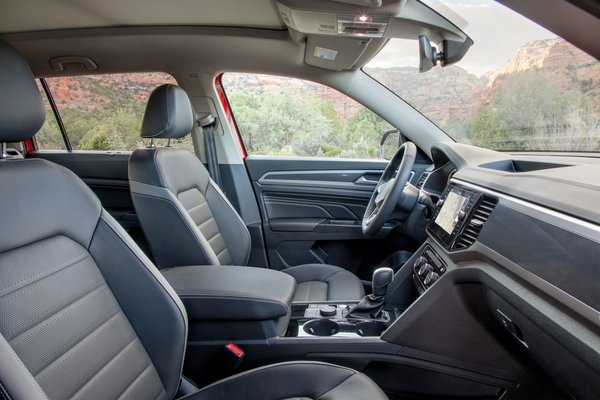 2021 Volkswagen Atlas SEL Premium 4MOTION Interior