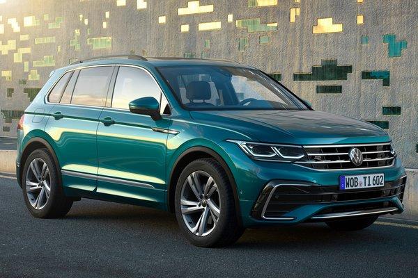 2021 Volkswagen Tiguan (European SWB model)