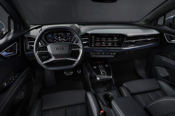 2022 Audi Q4 e-tron Sportback Interior