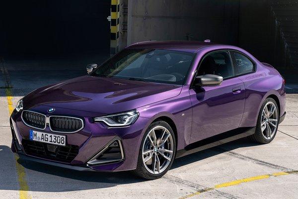 2022 BMW 2-Series M240i xDrive Coupe