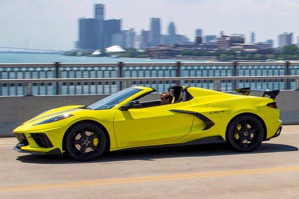 2022 Chevrolet Corvette Stingray IMSA GTLM Championship Edition Convertible