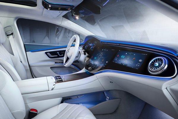 2022 Mercedes-Benz EQS Interior