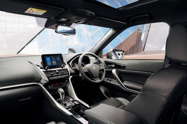 2022 Mitsubishi Eclipse Cross Interior (Australian model shown)