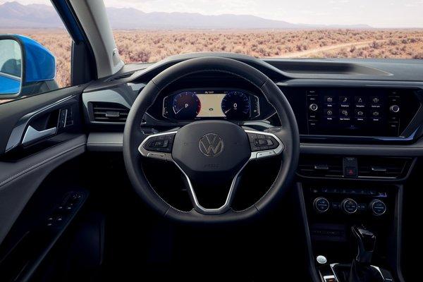 2022 Volkswagen Taos SEL Instrumentation