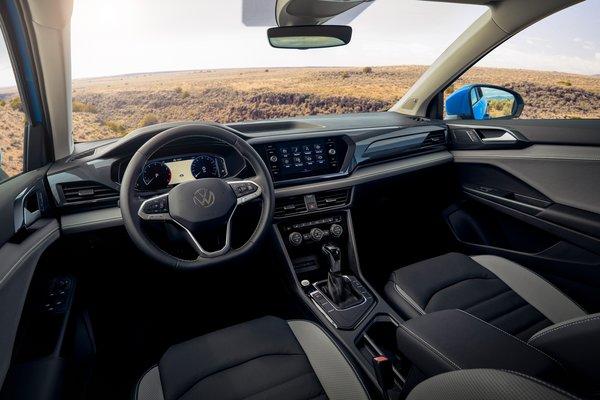 2022 Volkswagen Taos SEL Interior